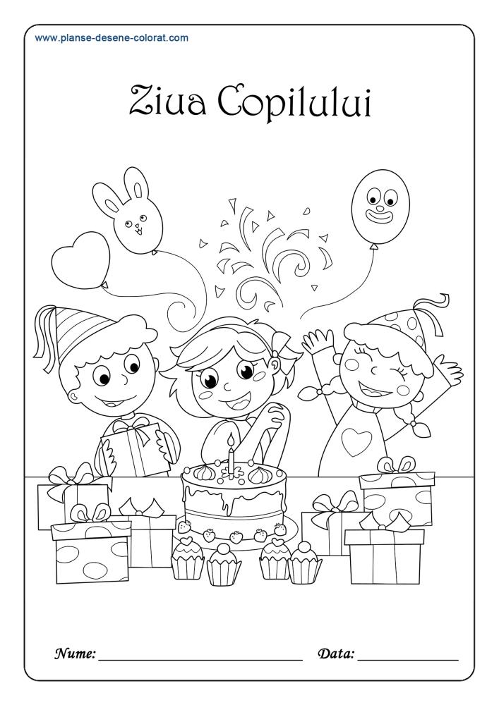 Planse De Colorat De Ziua Pamantului 22 Aprilie