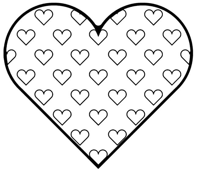 Planse De Colorat De Ziua Indragostitilor Sfantul Valentin