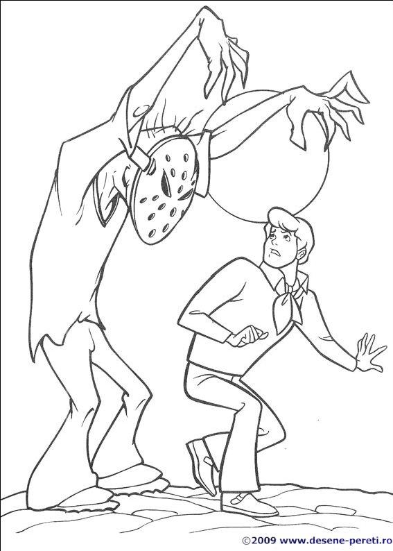 Scooby Doo Planse De Colorat