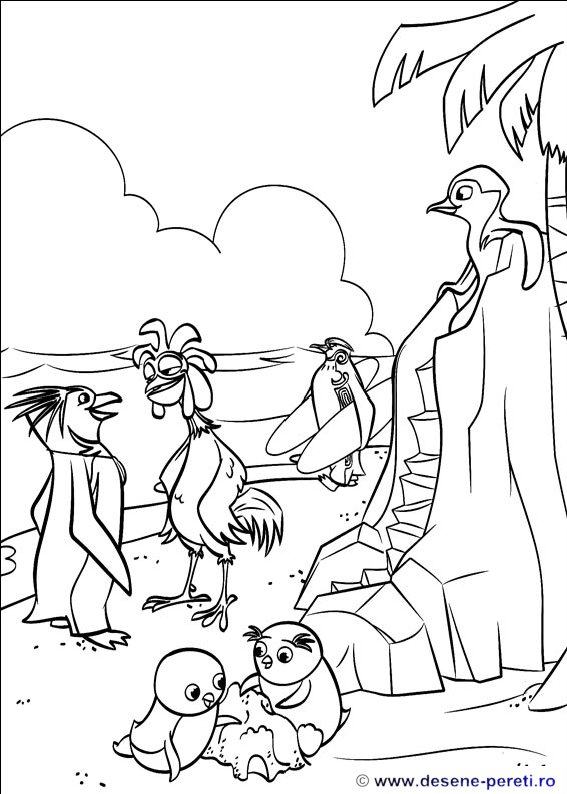 surfs up cody coloring pages - photo#15