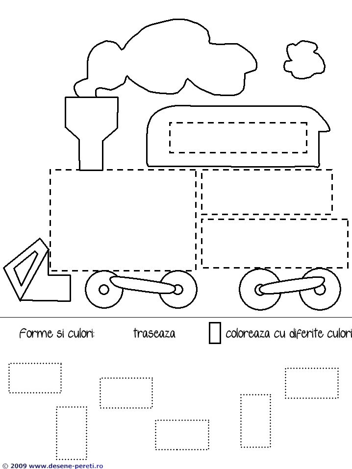 planse educative forme geometrice