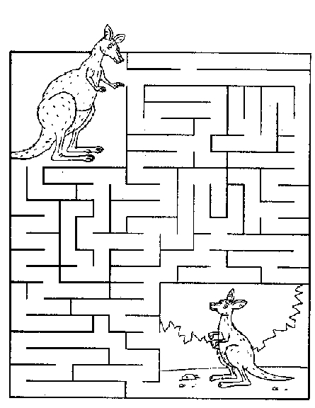 Planse Educative Labirint