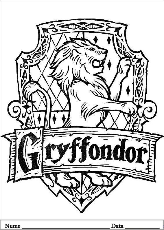 Harry Potter Planse Colorat Hello Kitty Desene