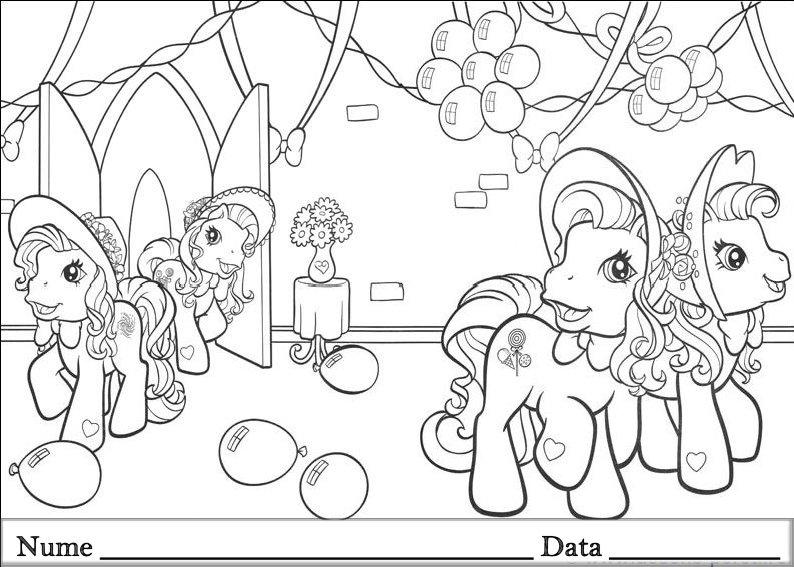 Desene De Colorat My Little Pony Qbebe Planse Si Taxcysuvecf