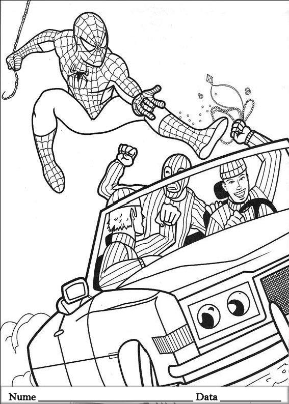 SPIDERMAN  (5)