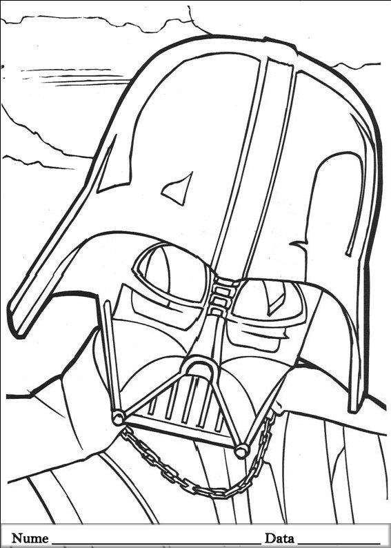 Star wars planse de colorat si educative - Dessin de star wars a imprimer ...