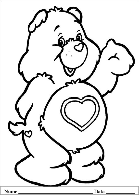 THE CARE BEARS  (58)