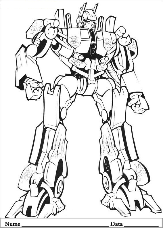 transformer bumblebee car coloring pages - photo#24