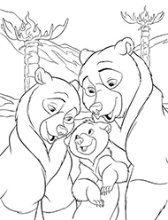 desene de colorat brother bear2