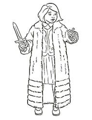 desene de colorat cronicile narnia