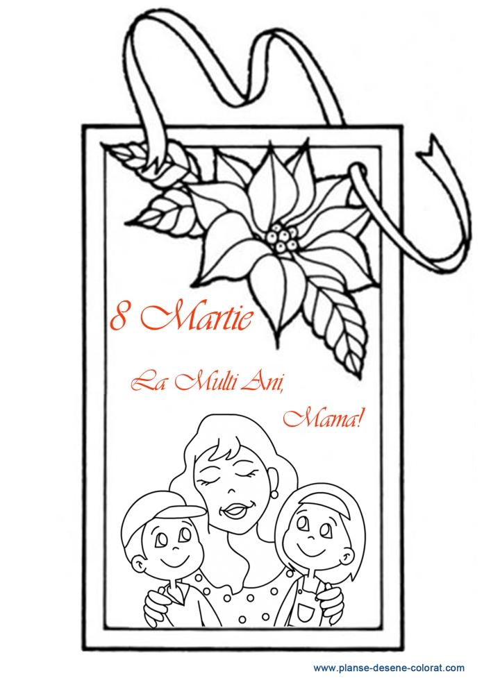 desene de colorat de ziua mamei 16