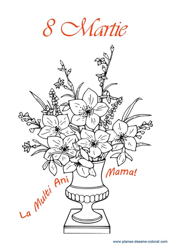 desene de colorat de ziua mamei 9