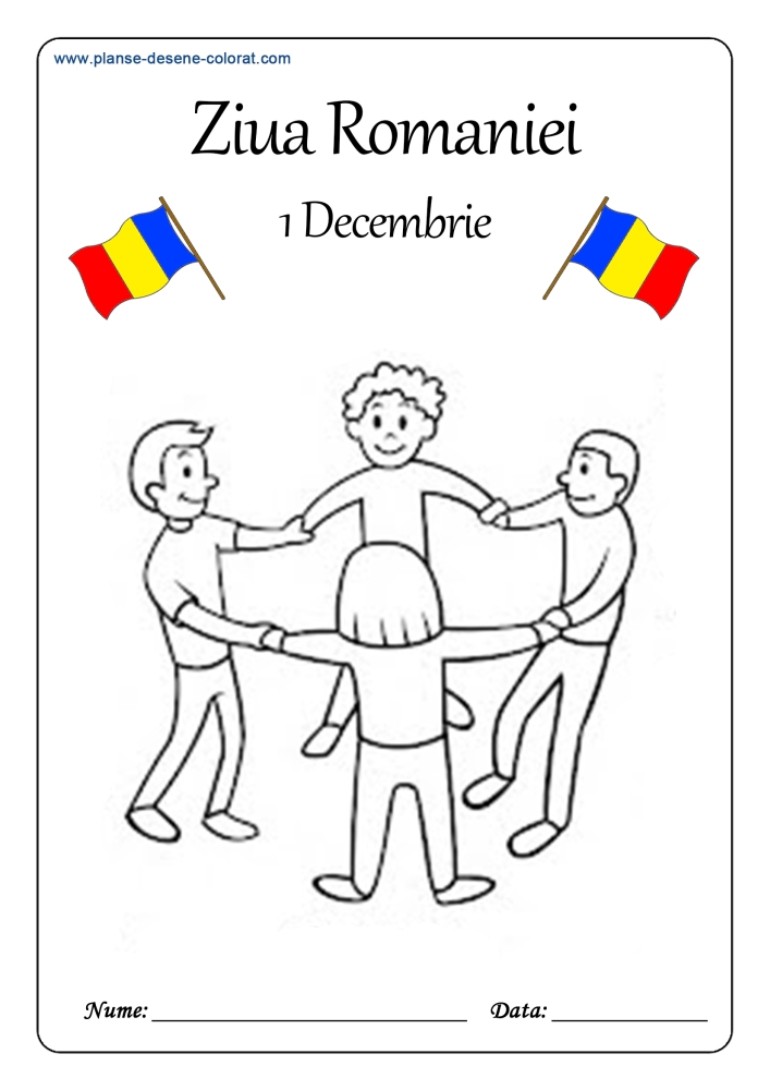 desene de colorat de ziua romaniei 5