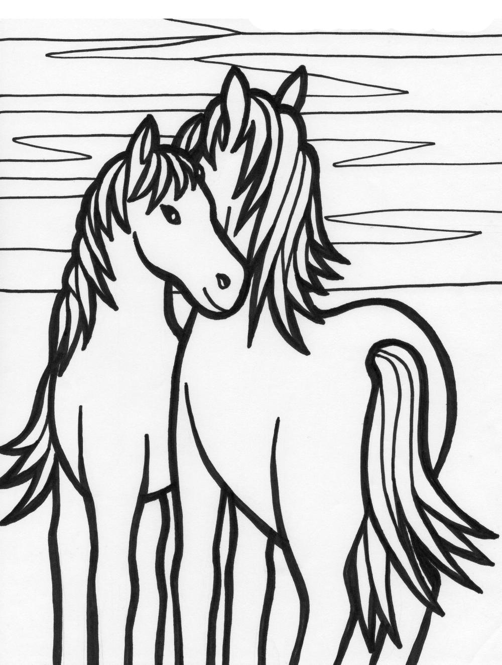 planse desene de colorat cal 40