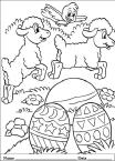 planse desene de colorat cu animale de pasti 16 thumbs