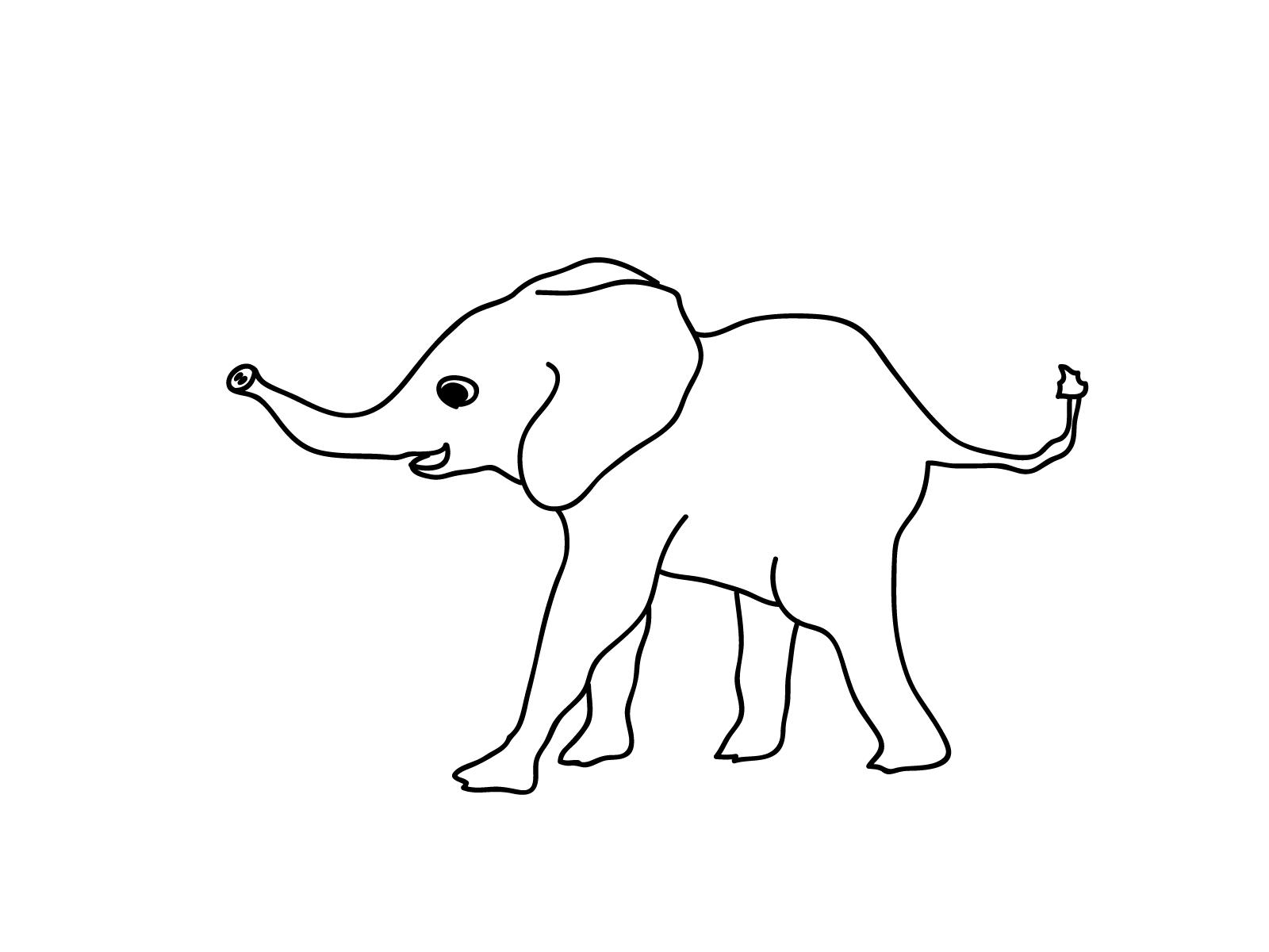 Planse Desene Colorat Elefant 10 Halloween