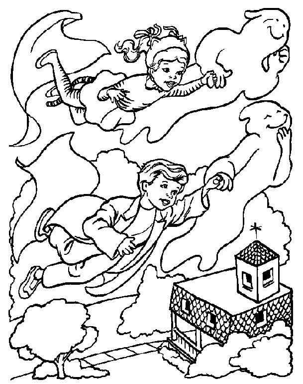 planse desene de colorat halloween dovleci fantome vrajitoare 26